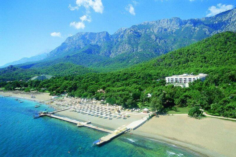Фото: море и горы в Турции