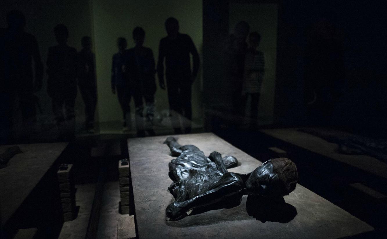 Мумия в музее Moesgaard