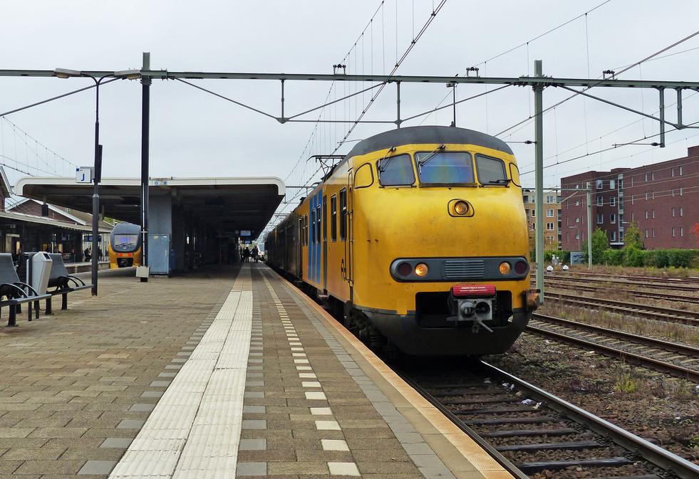 На ЖД станции в Рурмонде