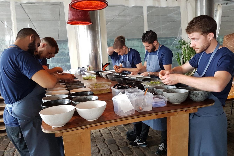 На кухне ресторана НОМА