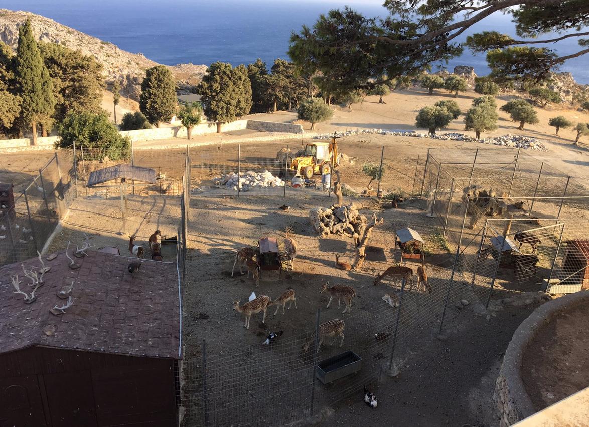Зоопарк при монастыре