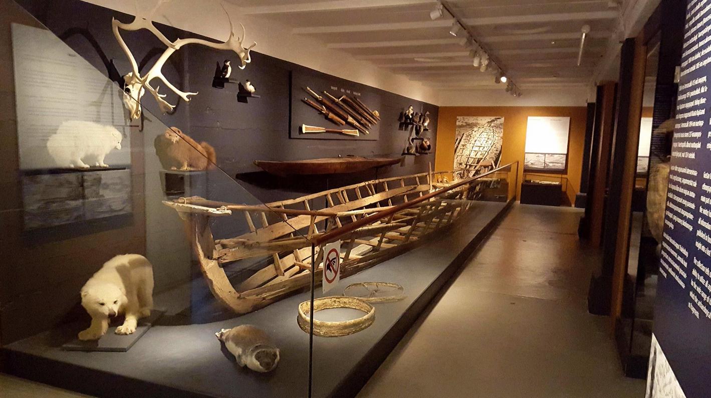 Лодка в музее