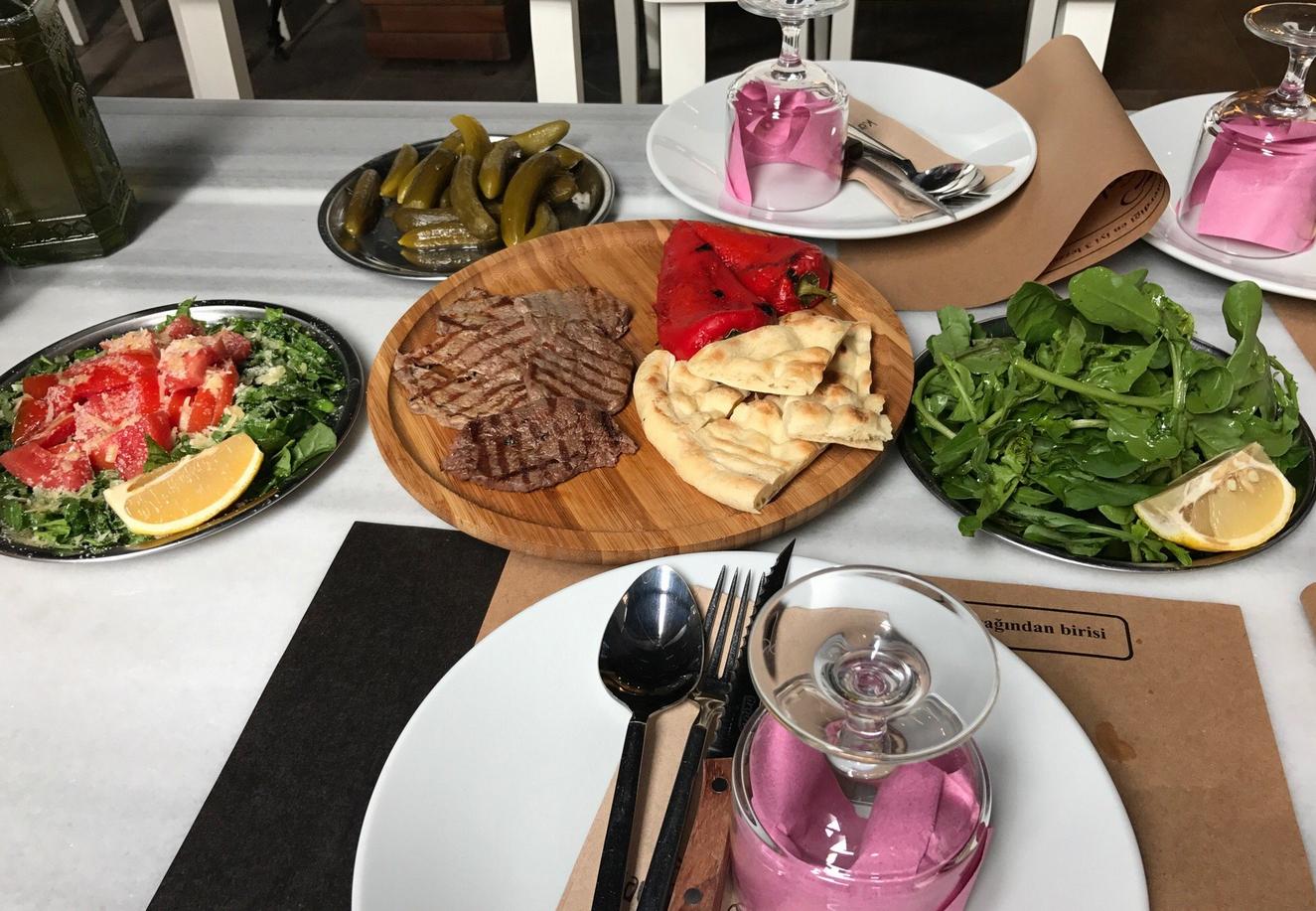 Обед в недорогом ресторане Бурсы