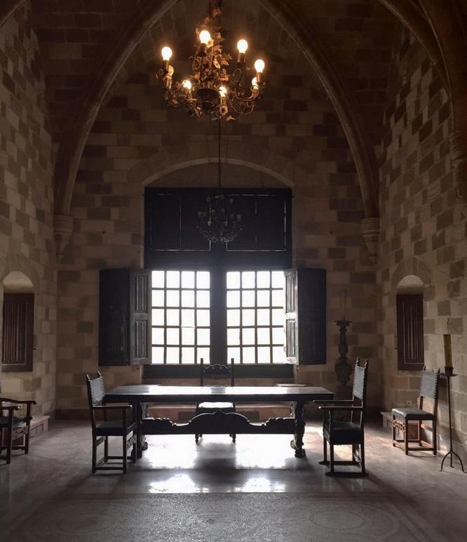 Одна из комнат в Дворце