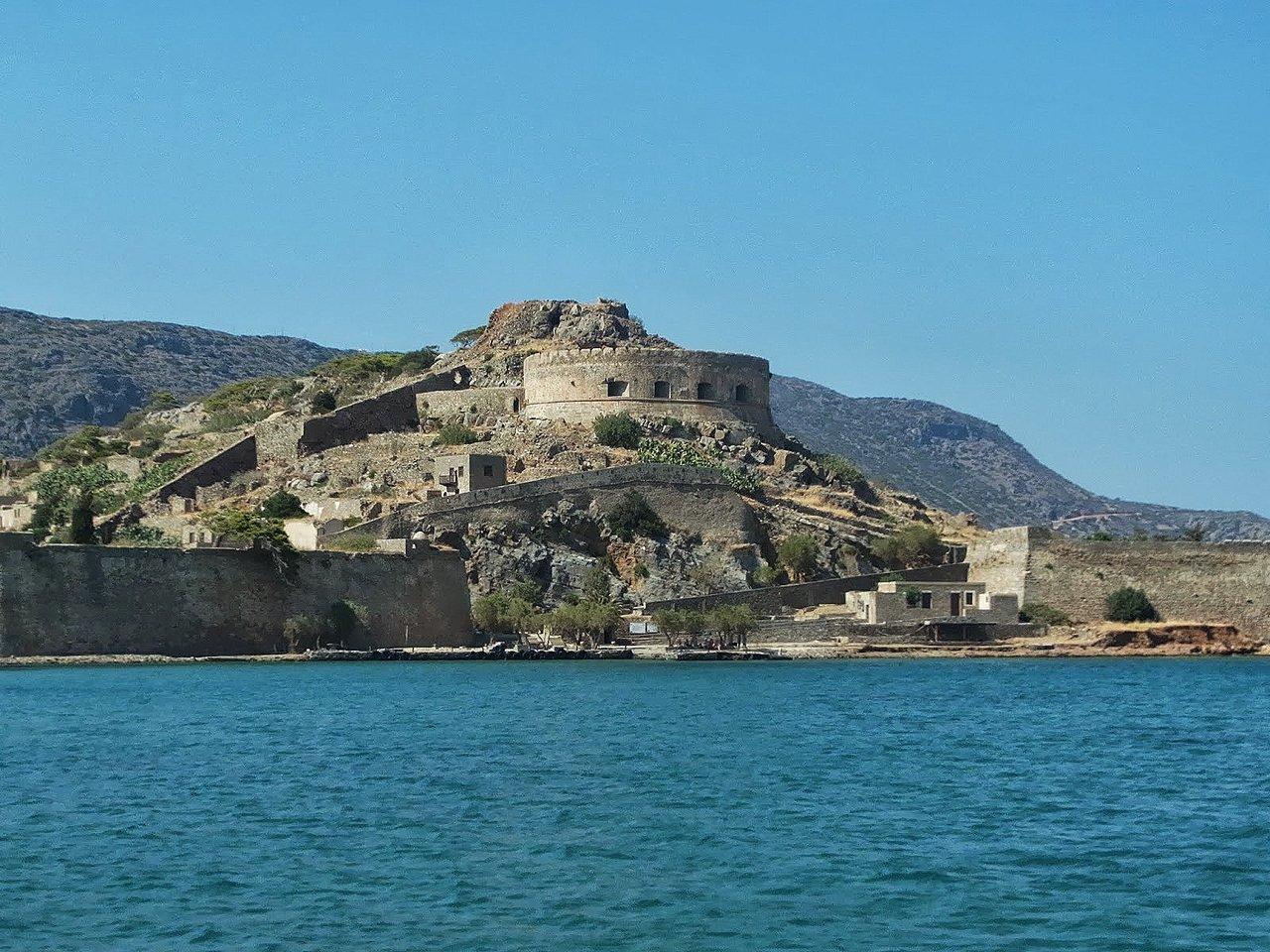 Остров Спиналонга Крит