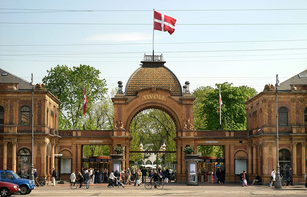 Парк аттракционов Тиволи, Копенгаген