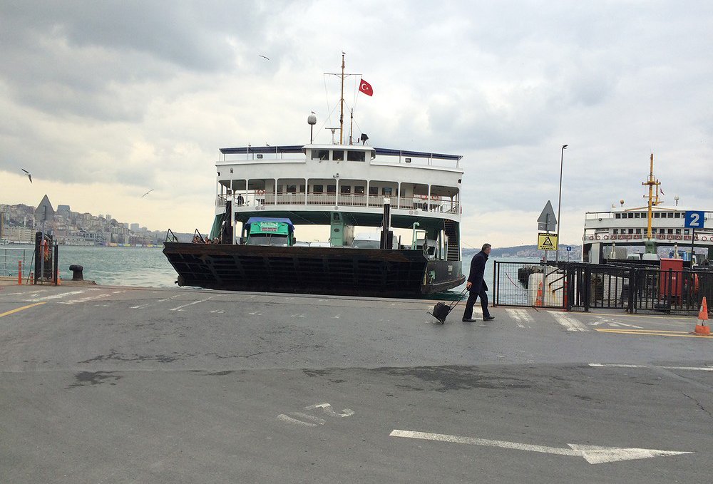 Паром от пристани Yenikapi