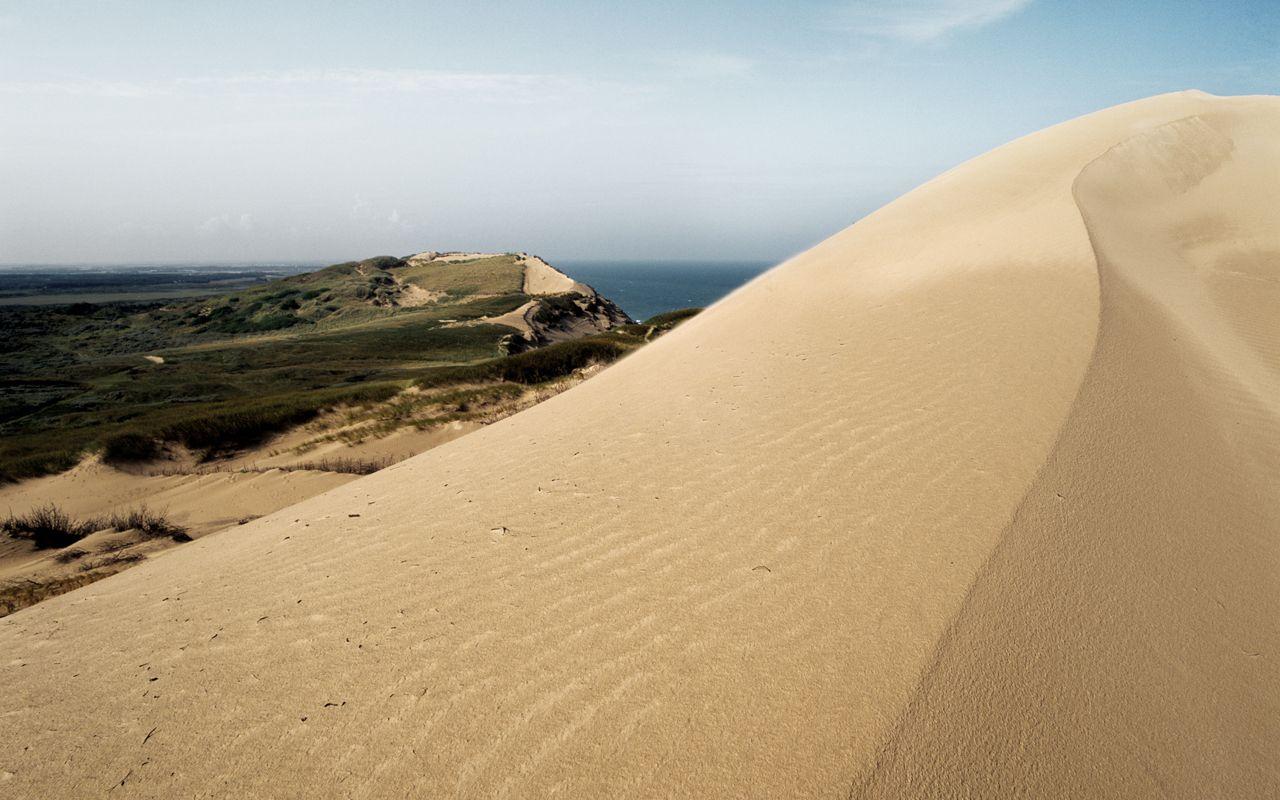 Песчаная дюна Rabjerg Mile