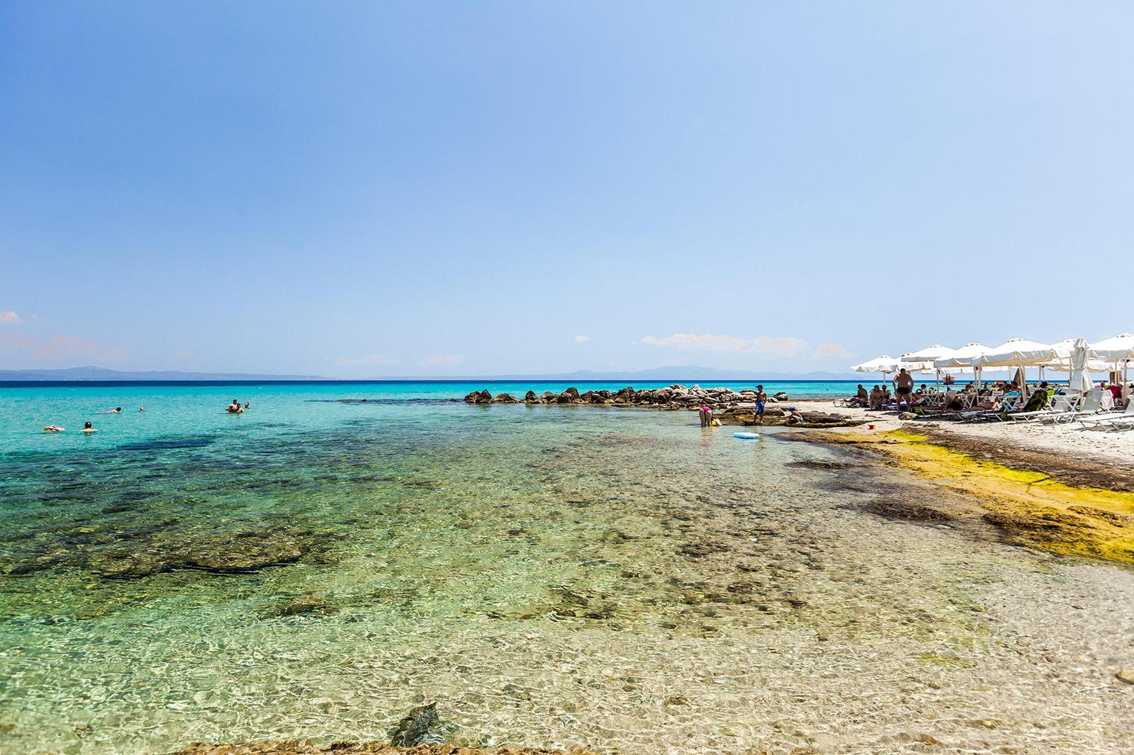 Пляж Афитос