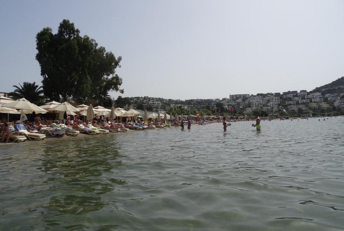 Пляж Битез, Бодрум