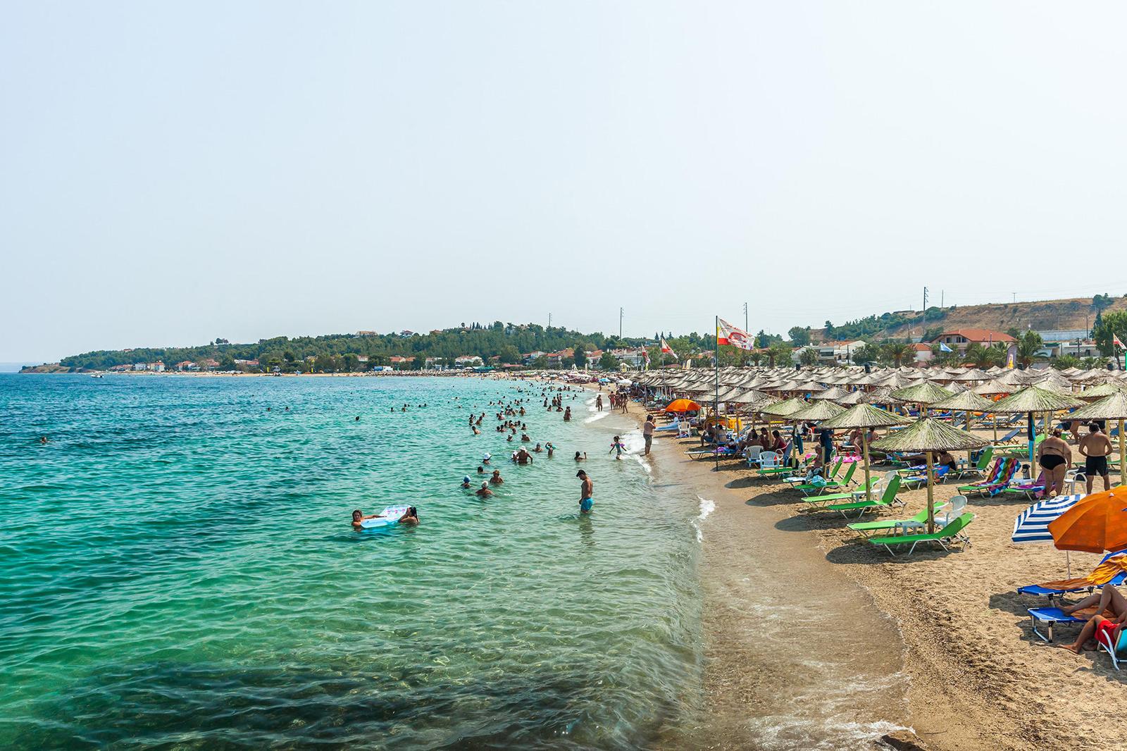 Пляж Неа Потидеа