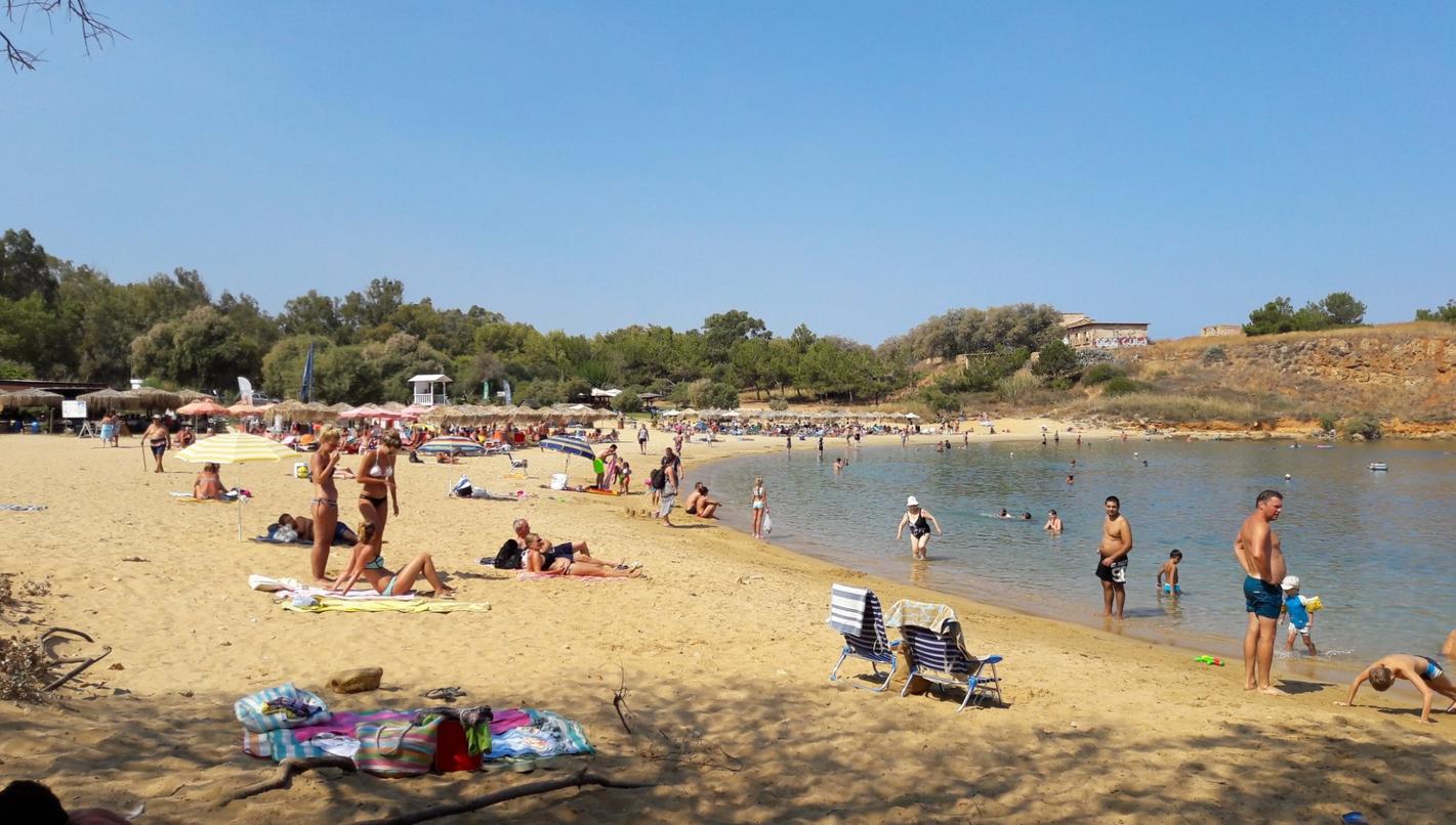 Пляж Agii Apostoli