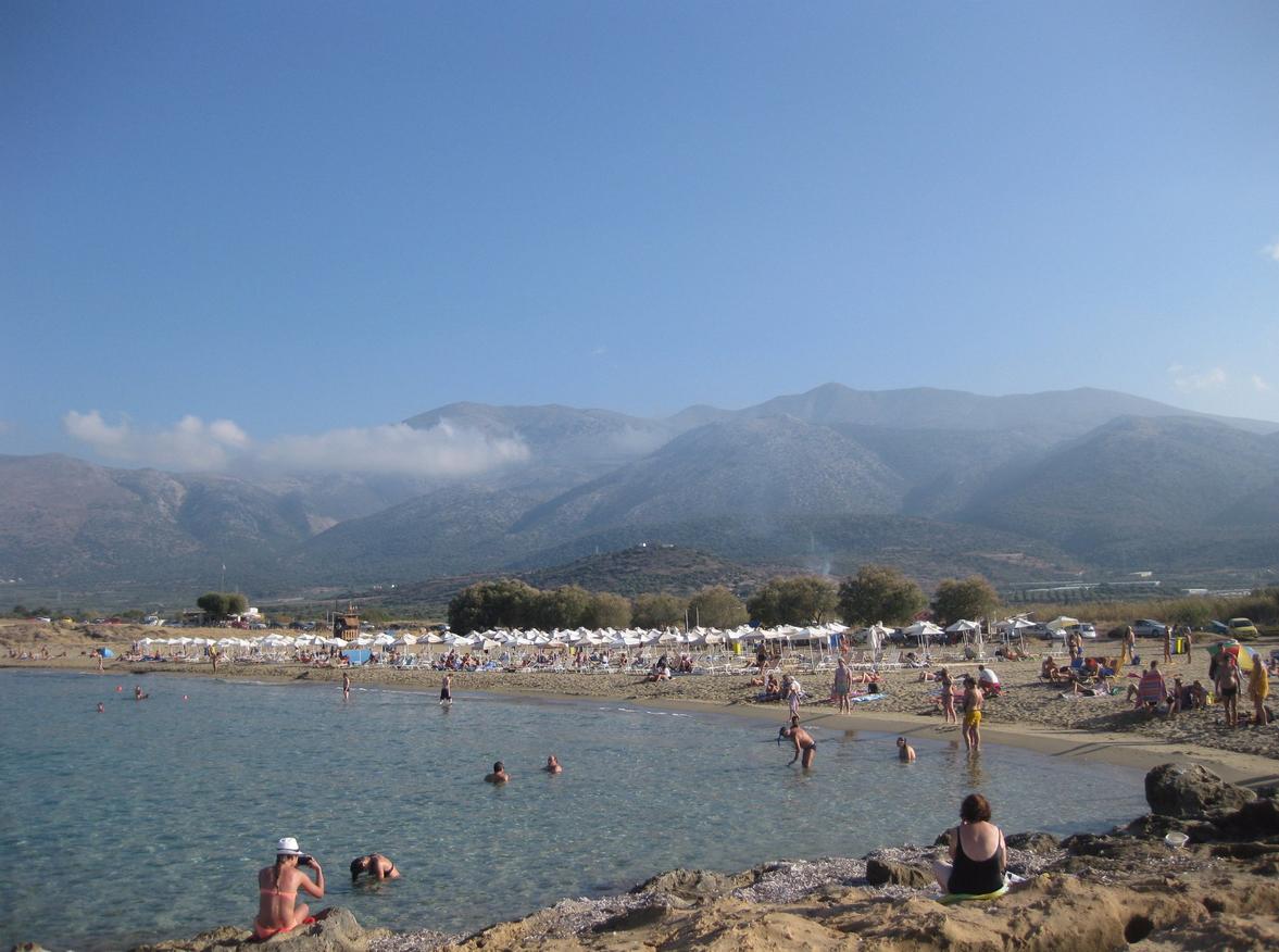 Пляж Potamos