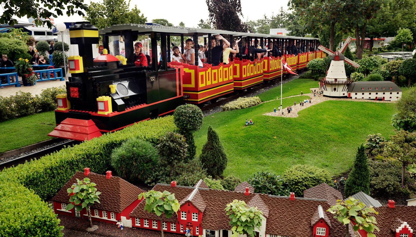 LEGO-поезд в Леголенде
