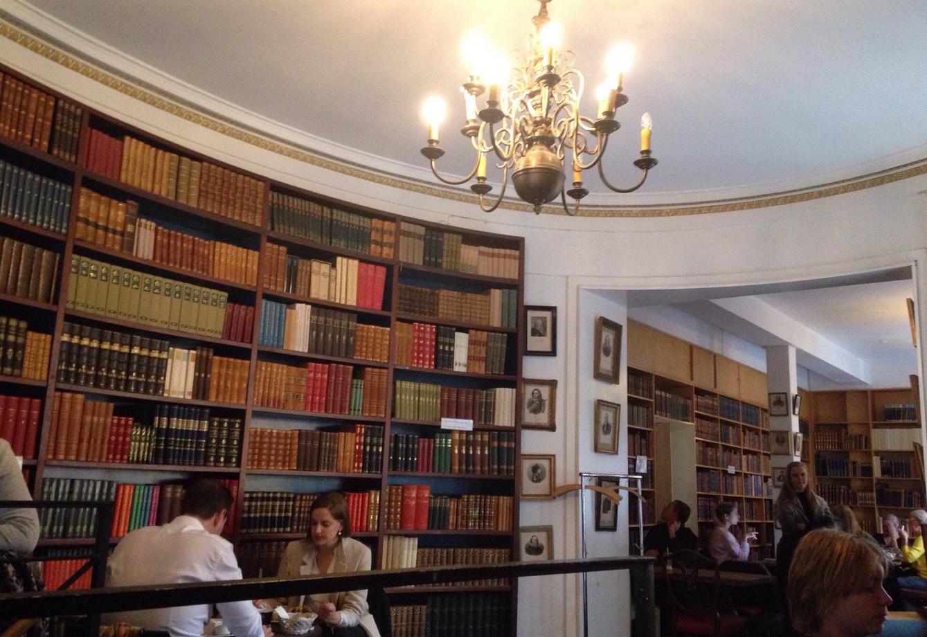 Ресторан-библиотека Paludan