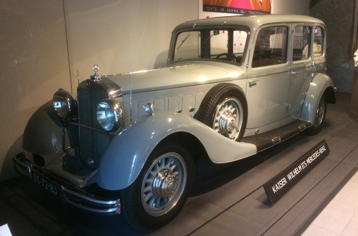 Ретро авто Kaiser Wilhelm II Mercedes-Benz