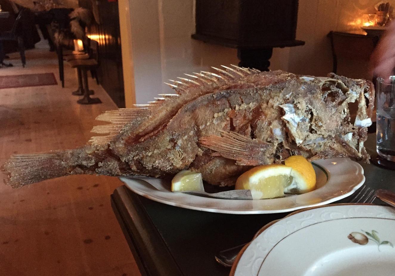 Рыбный ресторан Barbara