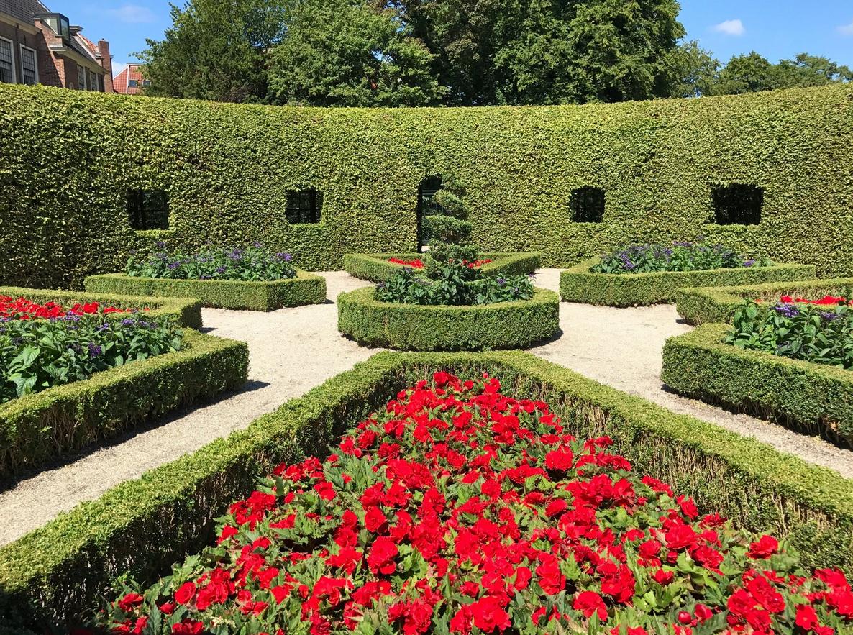 Сад Prinsenhof Gardens