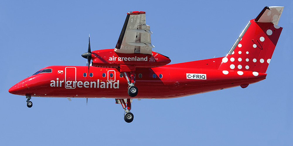 Самолет Air Greenland