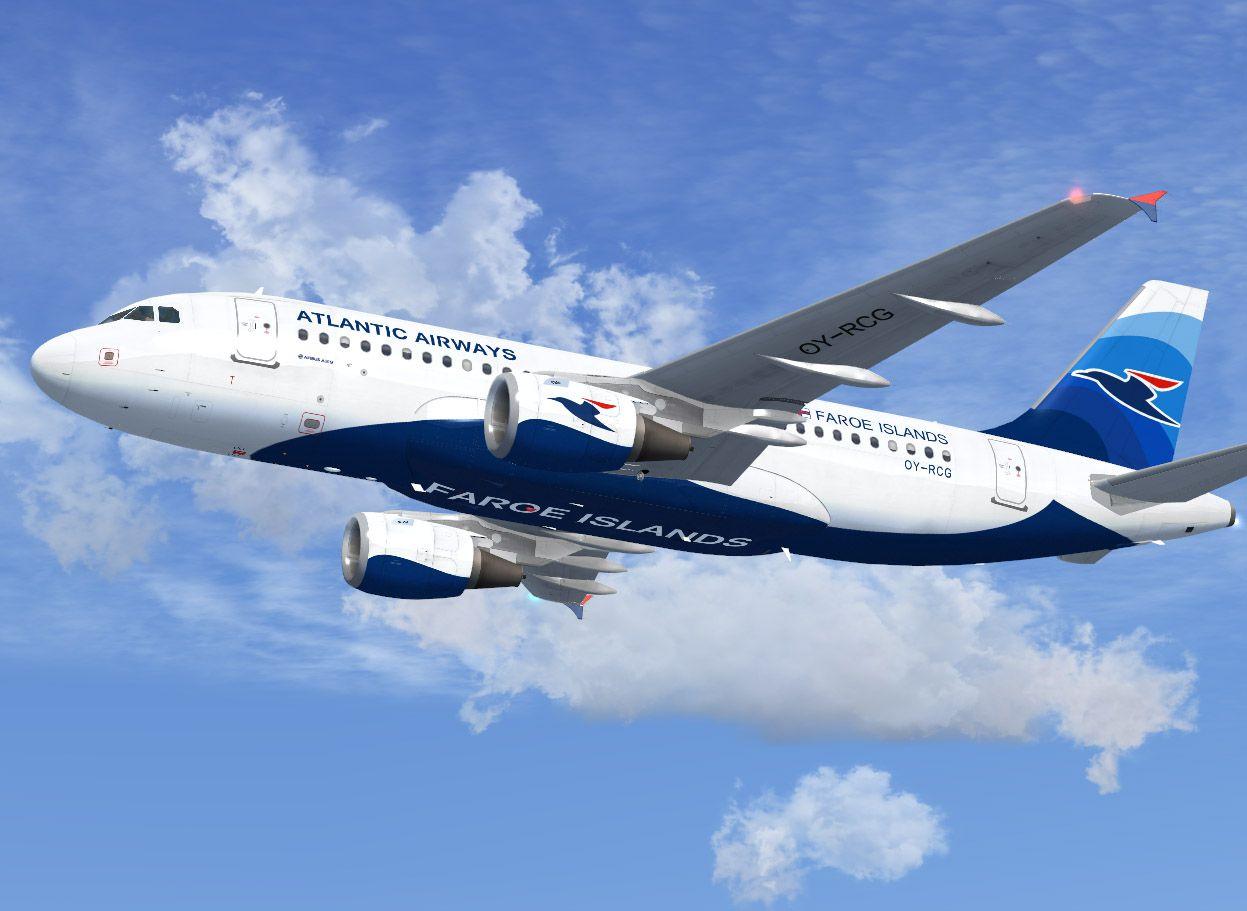 Самолет Atlantic Airways