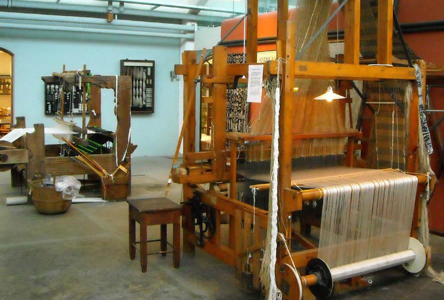 Ткатские станки в музее текстиля, Хернинг