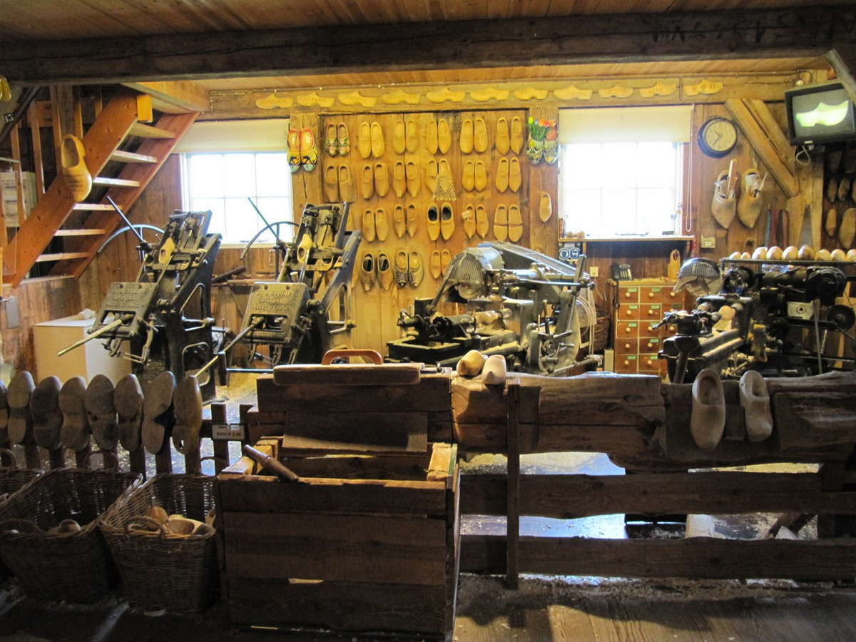 В музее кломпов в Зансе-Схансе
