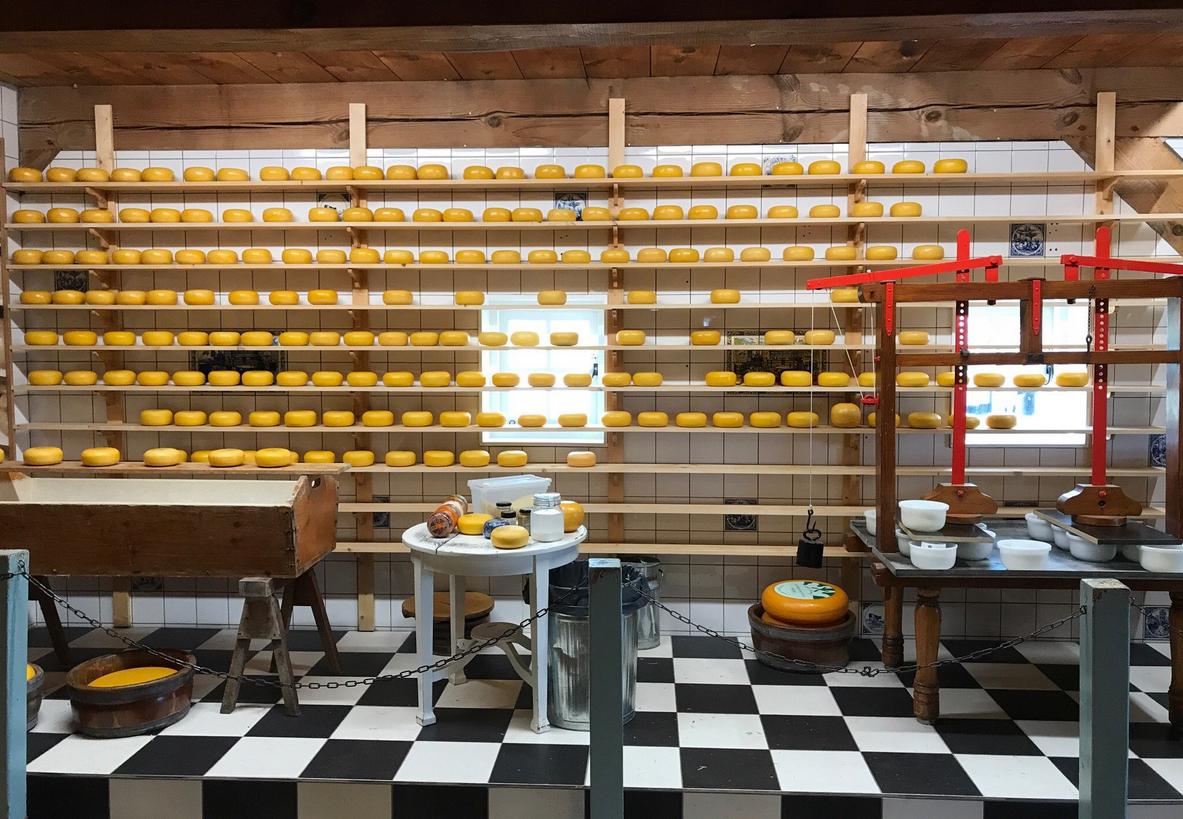 Сырная ферма в Заансе-Сханс