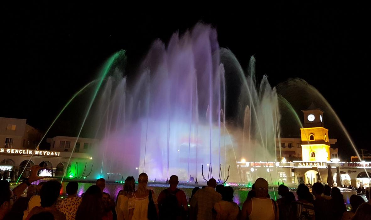 Танцующие фонтаны, Мармарис