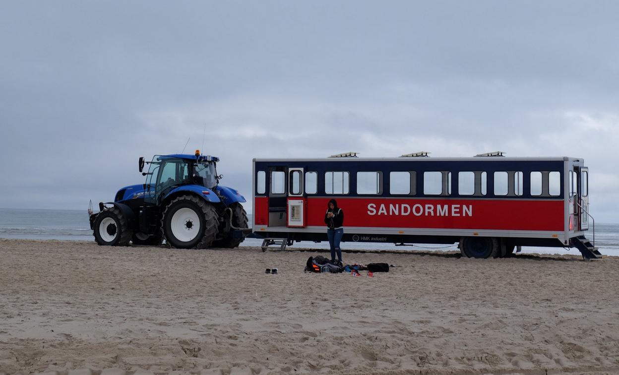 Трактор Sandormen