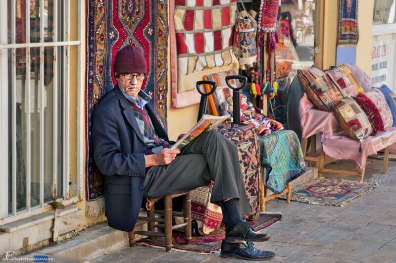 Турецкий уличный торговец