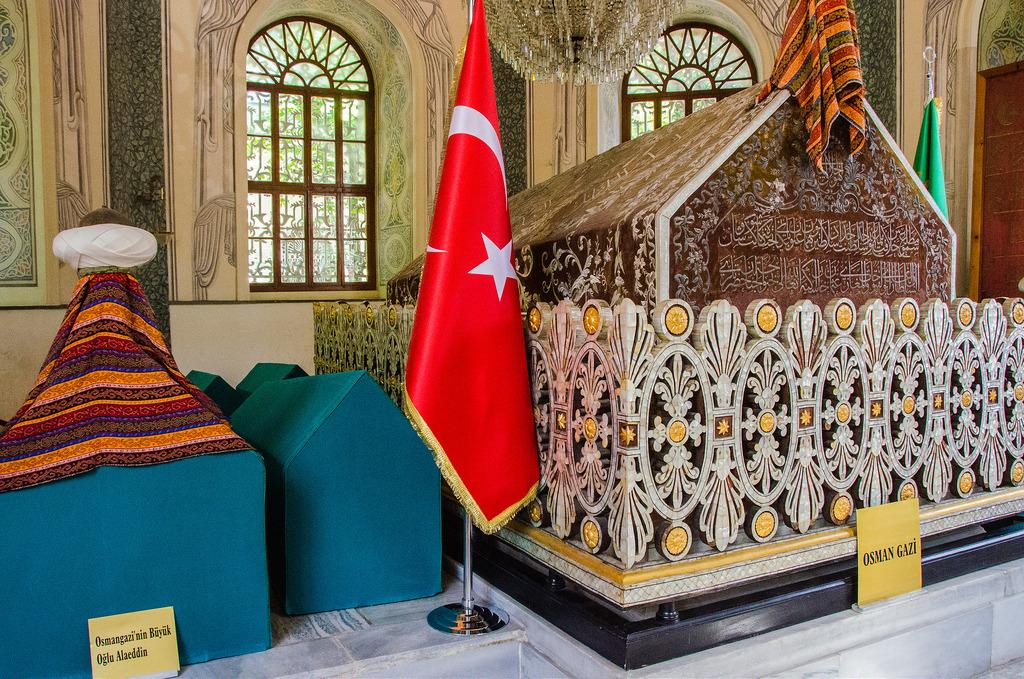 Усыпальница основателей Османской империи