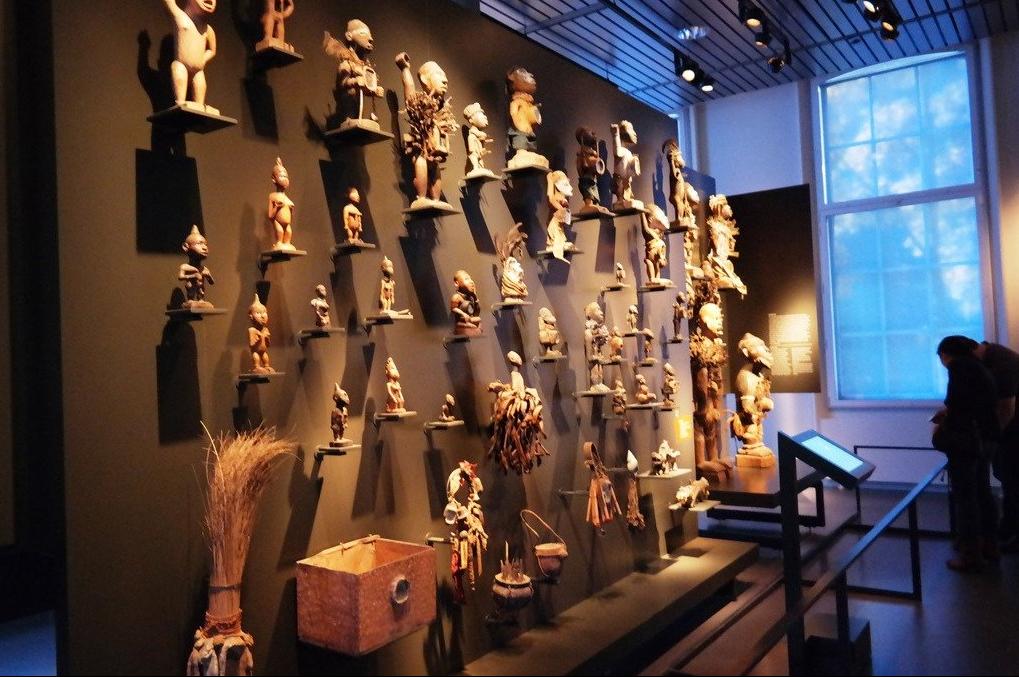 Экспонаты в Этнологическом музее
