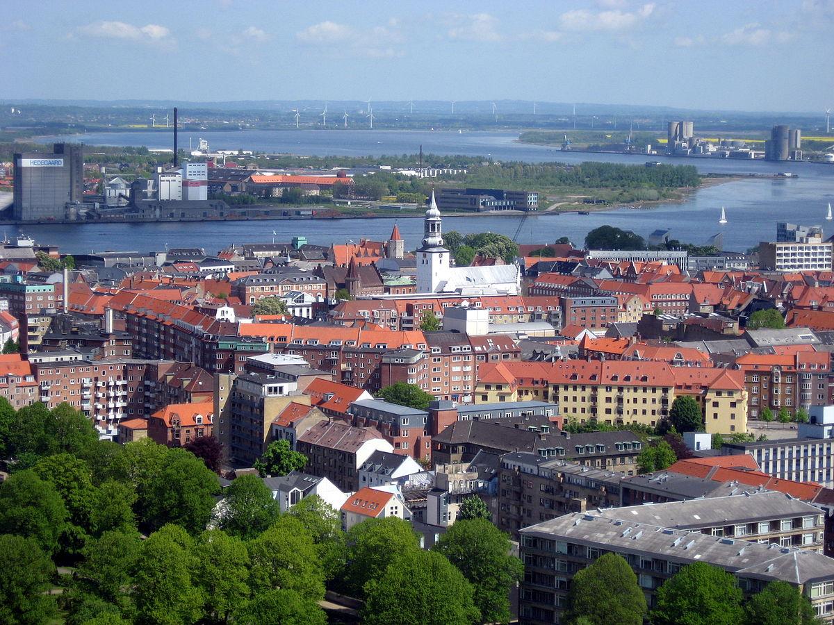 картинка фотография курорта Ольборг в Дании