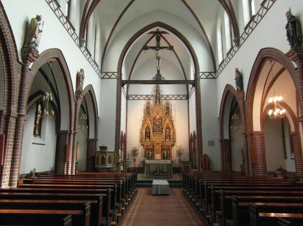 В церкви святого Албани, Оденсе