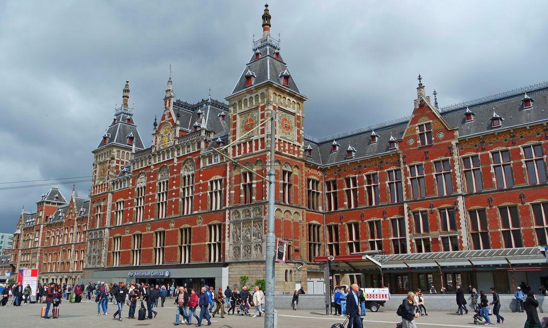 Центральной железнодорожный вокзал Амстердама
