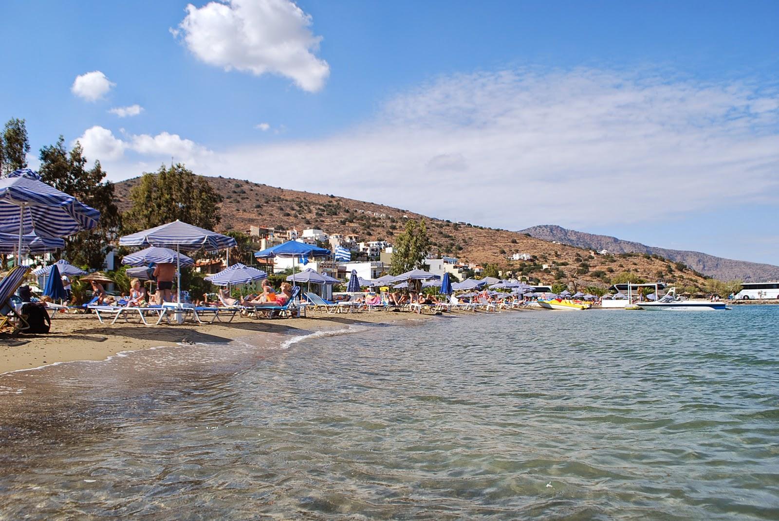Центральный пляж в Элунде