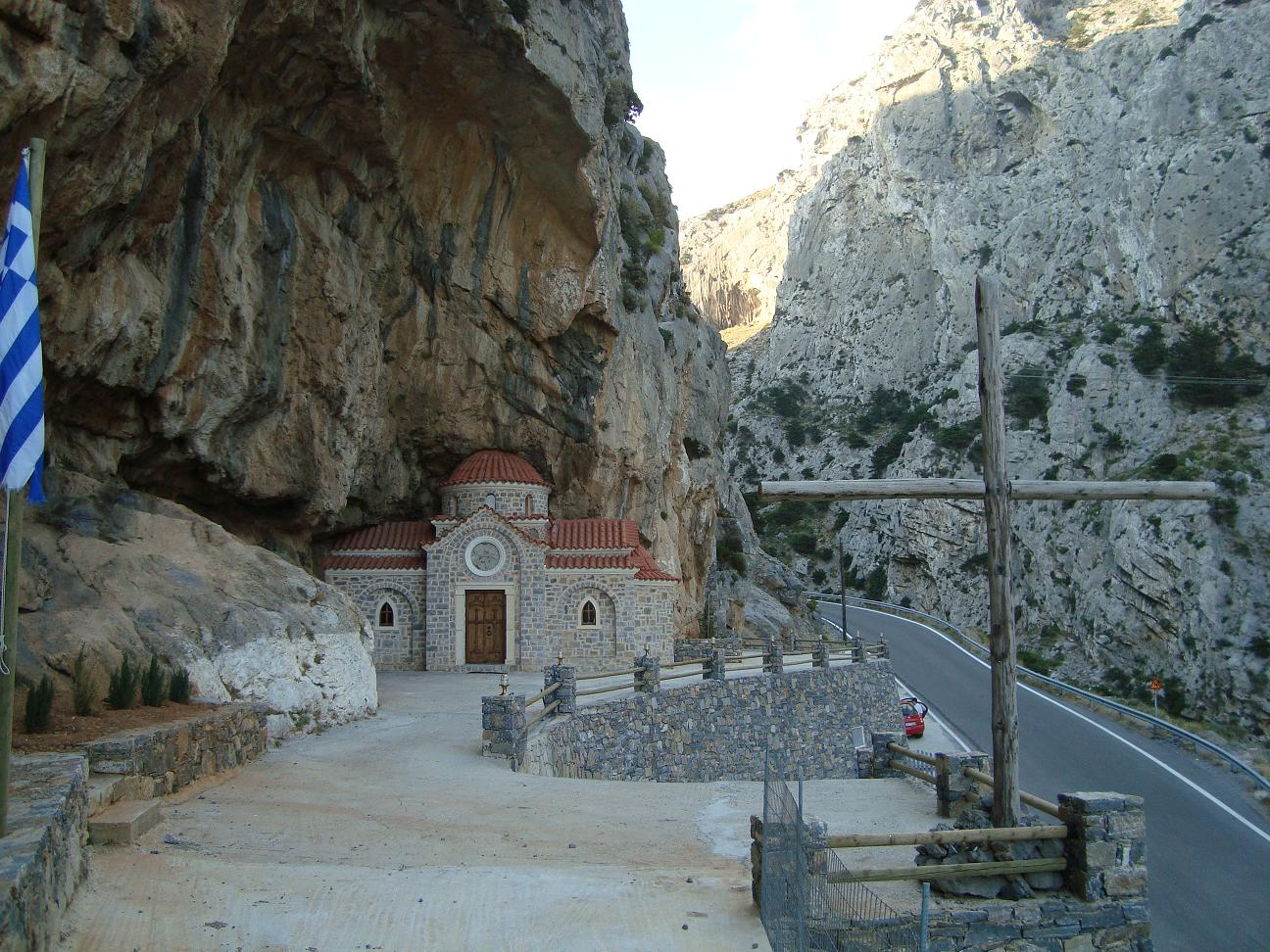 Церковь Николая Чудотворца в ущелье Котсифу