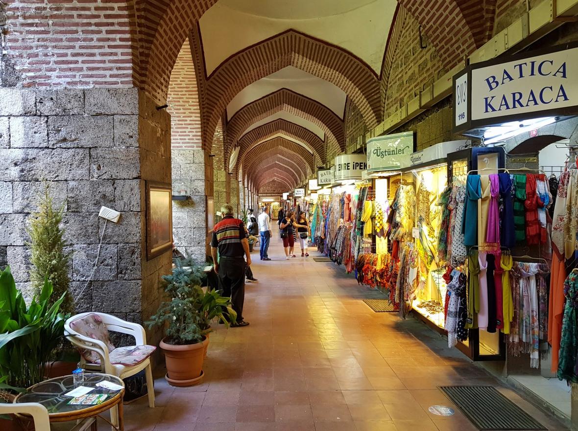 Шелковый рынок Koza Hani
