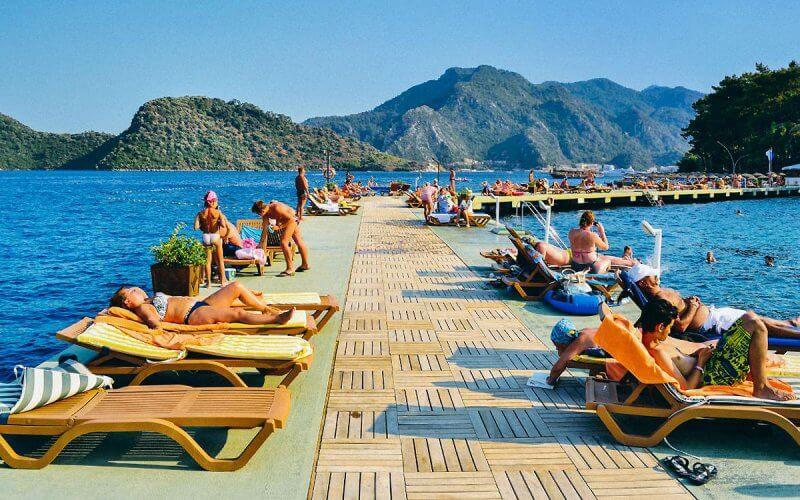 Отдых на побережье Турции