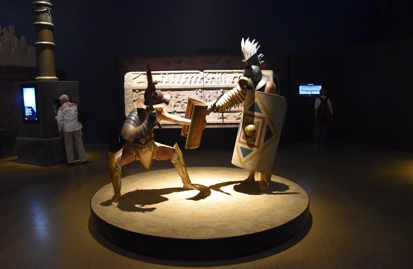 Экспонаты в музее Moesgaard