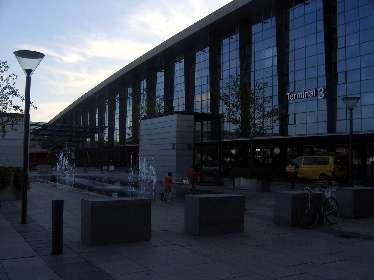Аэропорт в Копенгагене, Дания