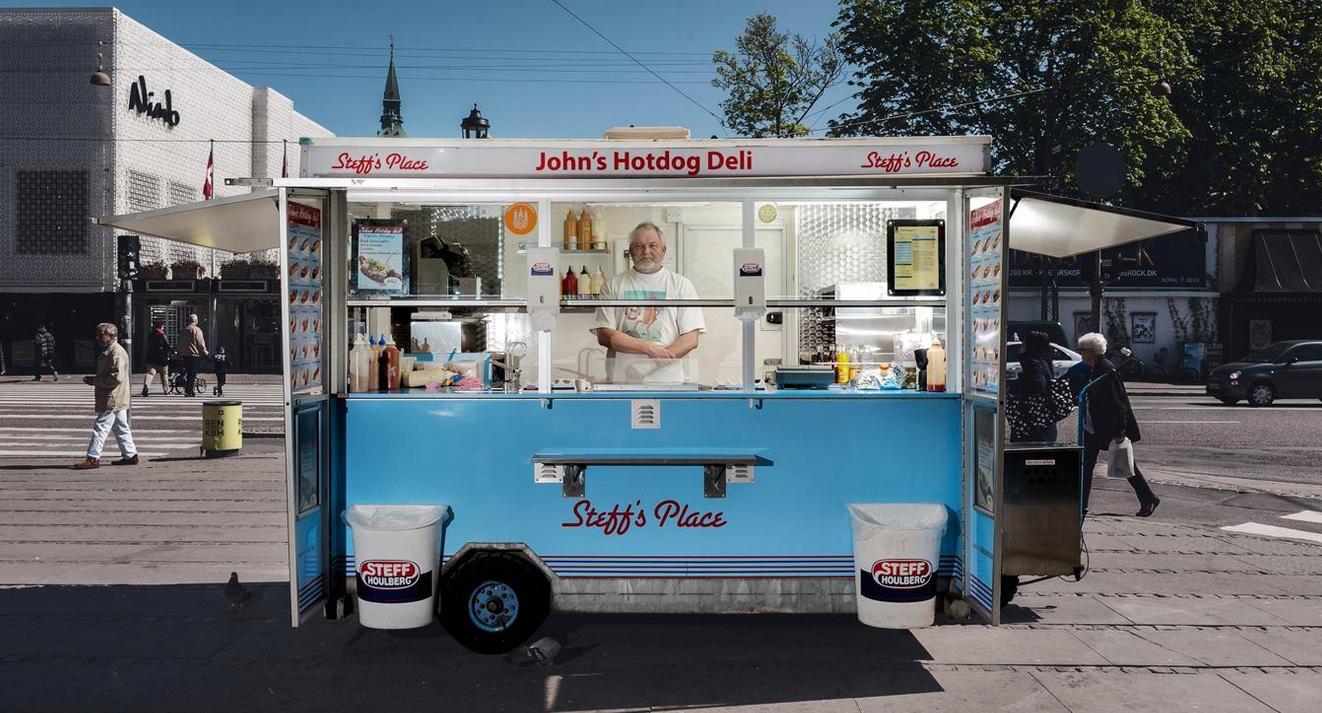 Закусочная Johns Hotdog deli