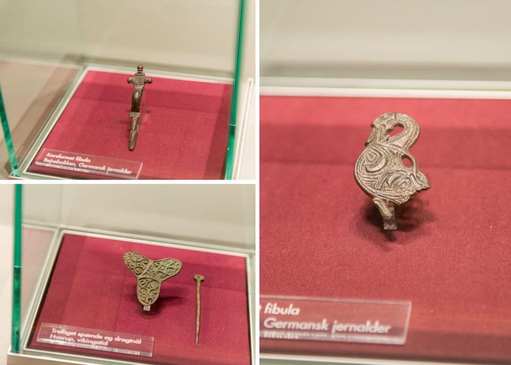 Экспонаты, найденные в процессе раскопок