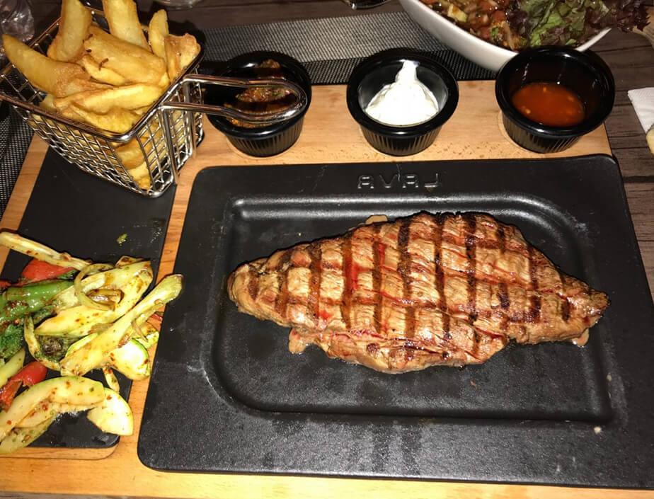 Ужин в ресторане Agusto Restaurant