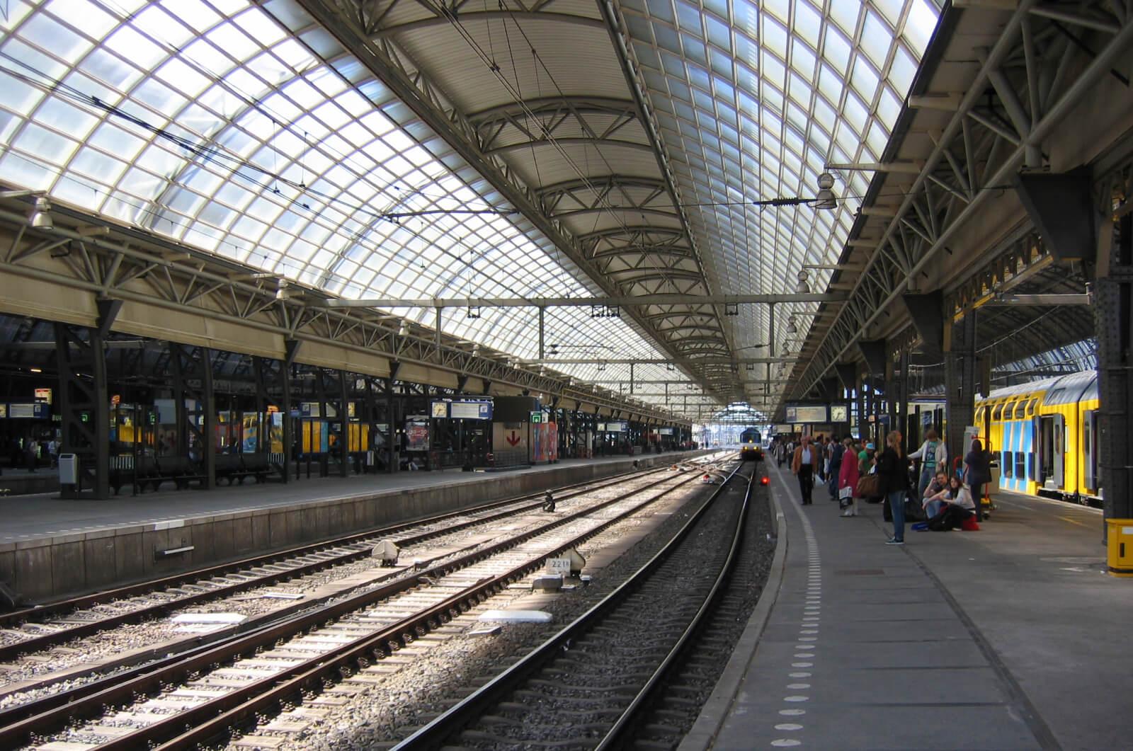 Станция Amsterdam Centraal
