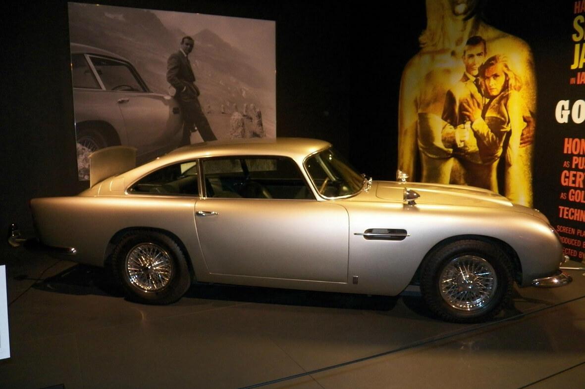 Aston Martin Бонда
