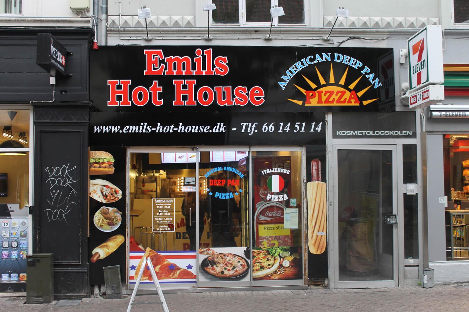 Фас-фуд Emils Hot House