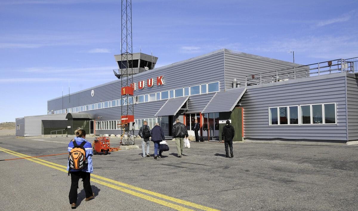 Аэропорт Нуук, Гренландия
