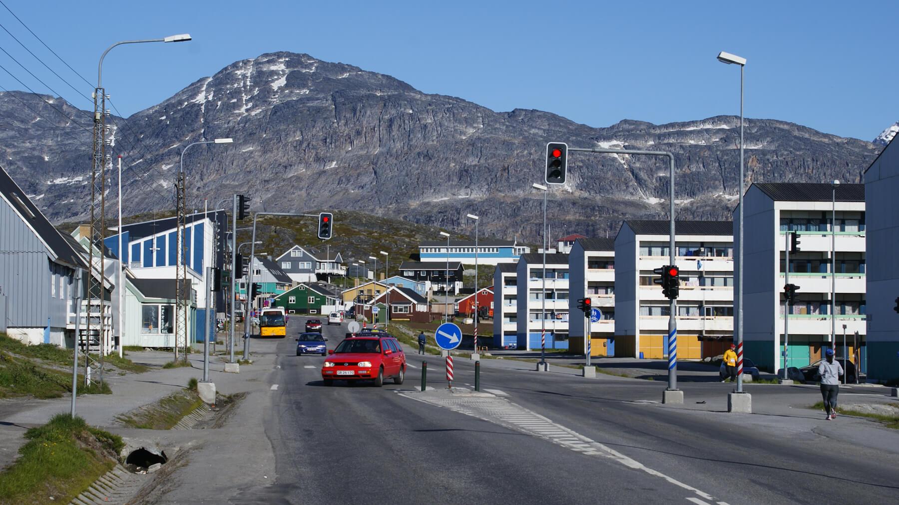Центр города Нуук