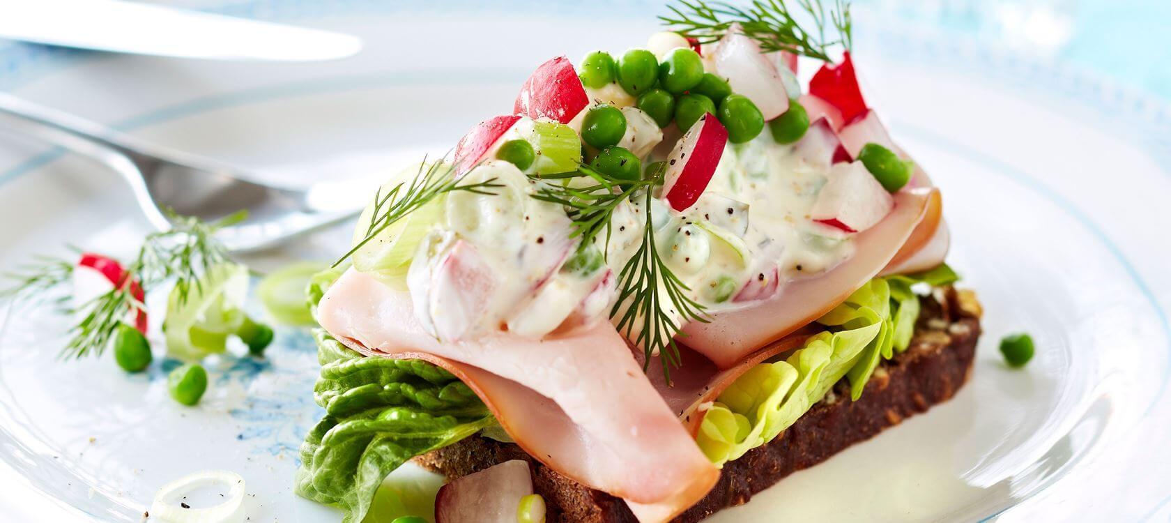 Национальное блюдо Дании - Смёрребрёд